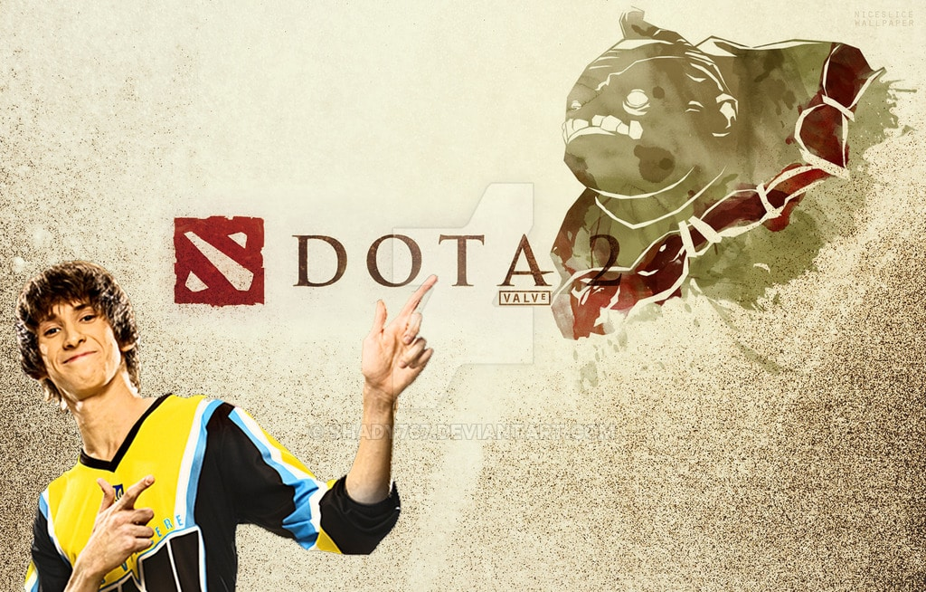 Dendi, The Face of Dota.