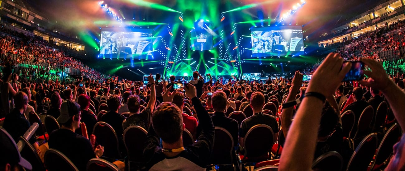 ESL One Cologne 2018 Semi Final view from the spectators
