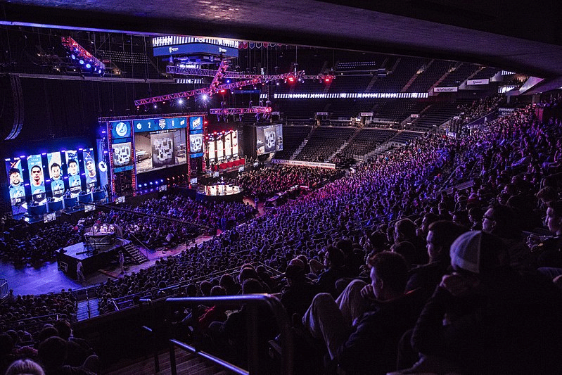 2016 MLG Columbus Major spectator and stage view