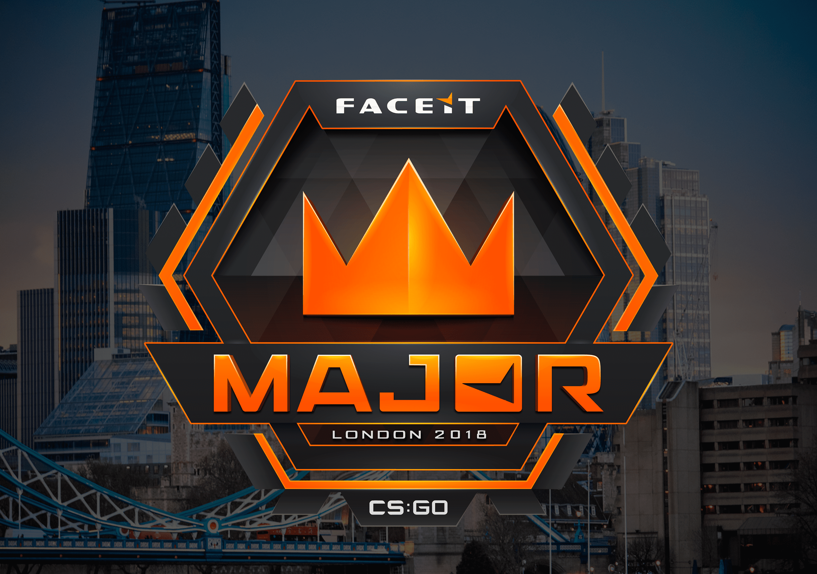 Banner for article titled FACEIT MAJOR London 2018 Info Latest CSGO News