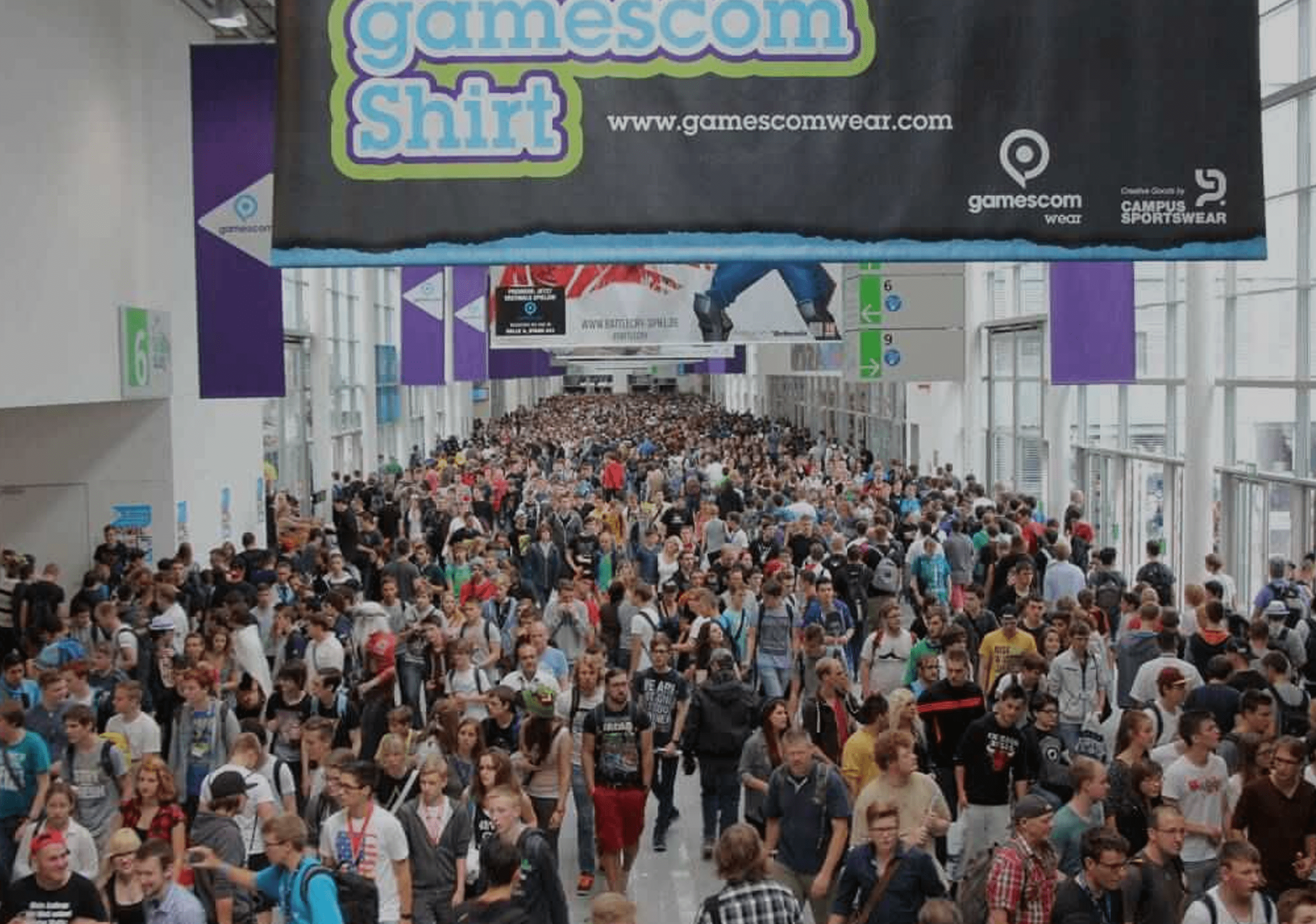 Banner for article titled: Gamescom 2018 Highlights – Best '18 Gamescom Games