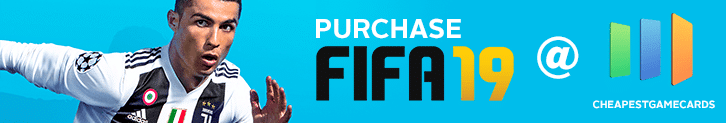 Buy FIFA 19 PC Codes from cheapestgamecards.com promo for Gaming4.Cash