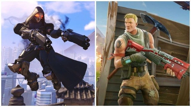 Fortnite characters in actions