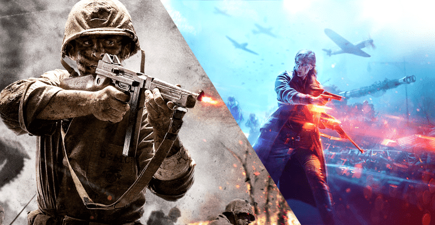 Differences between Call of Duty and Battlefield