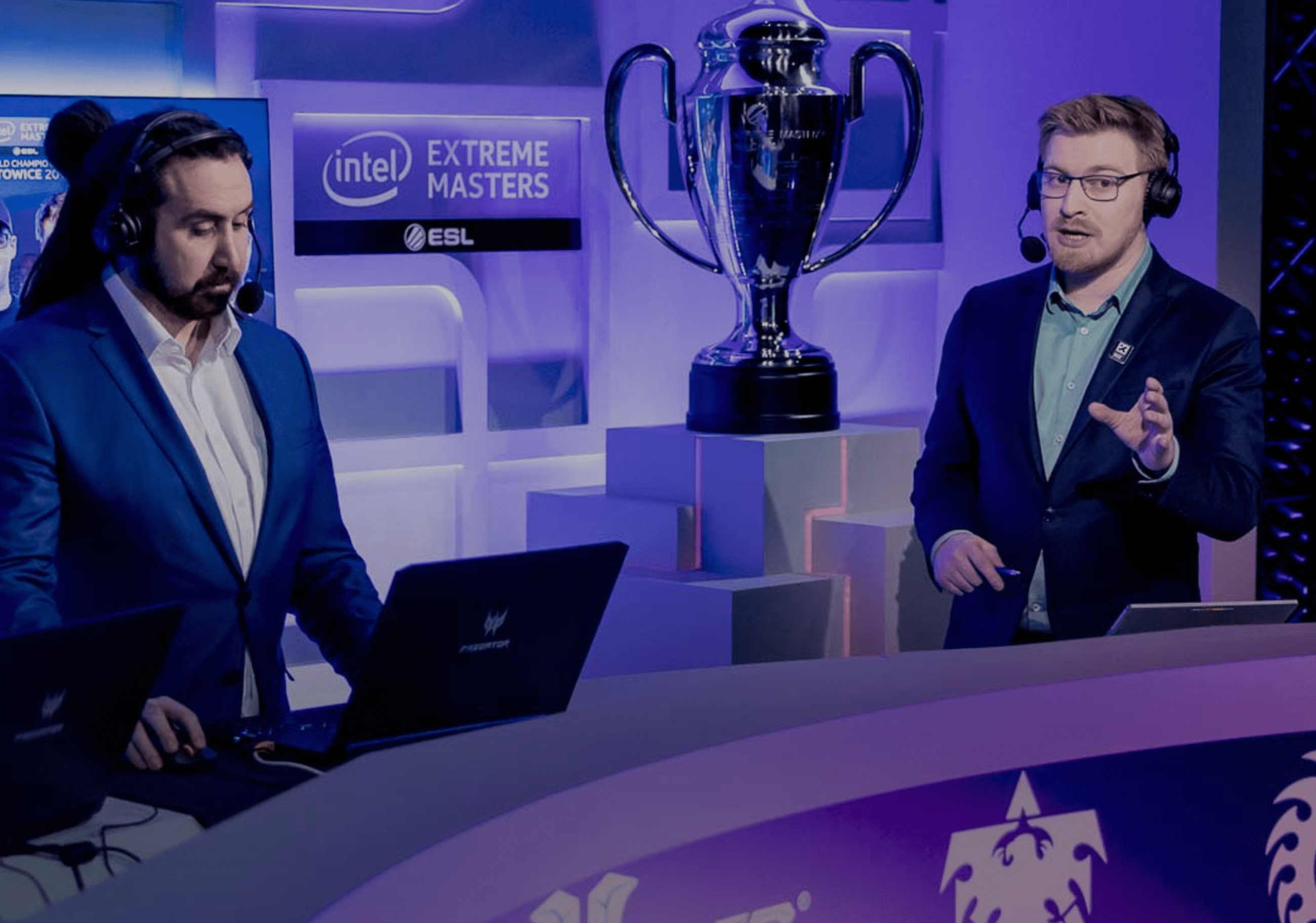 Banner for article titled How to make money as an esports caster