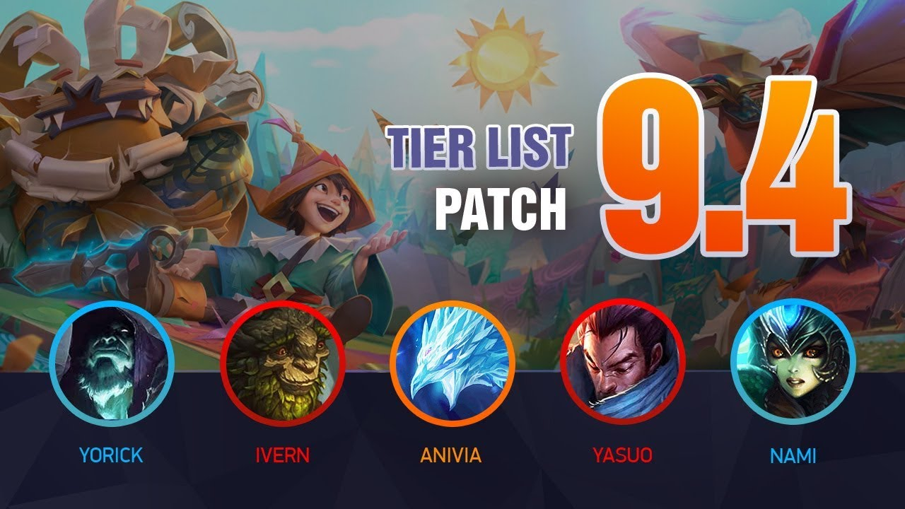 League of Legends Patch 9 4 Notes | Gaming4 Cash