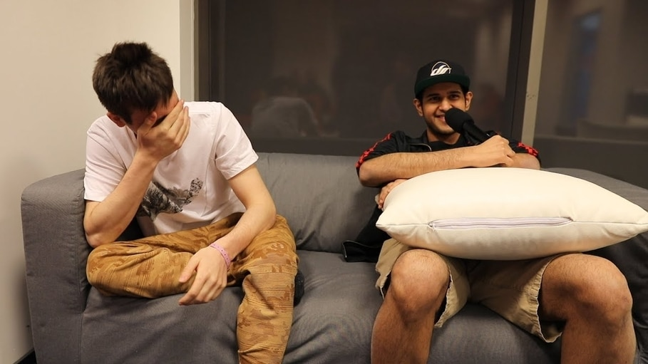Bulba with Arteezy before his fame.