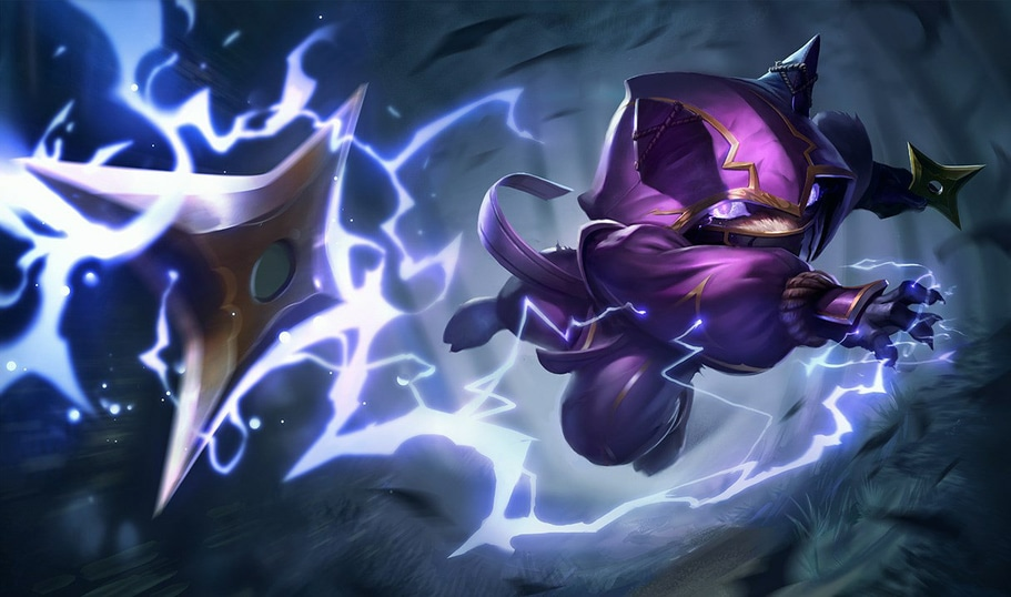 Kennen, Jarvan IV's beloved companion within the guide.