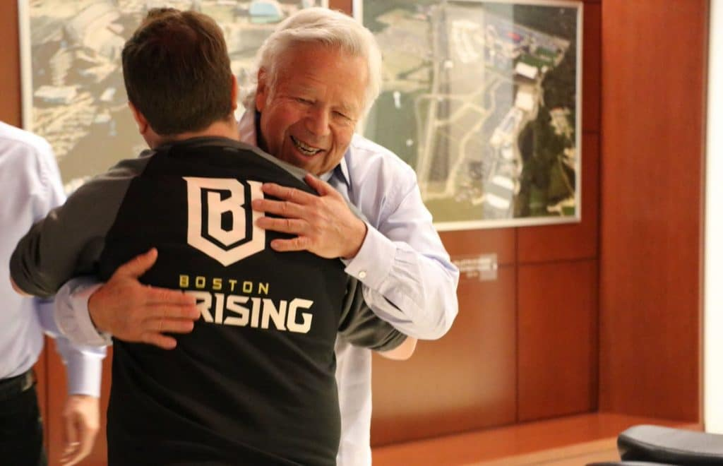 Overwatch Boston Uprising owner Kraft