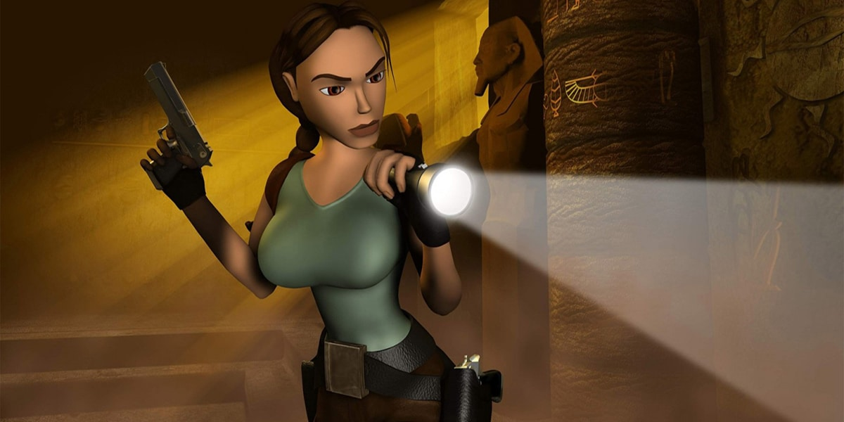 tomb raider best video game boobies