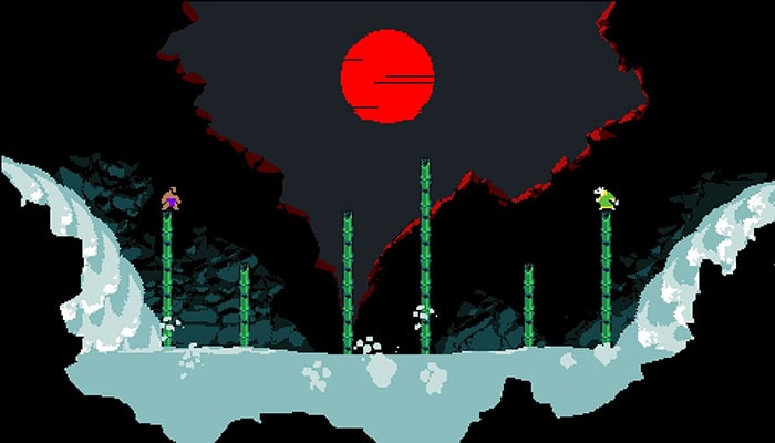 samurai gunn 2 video game art 2019