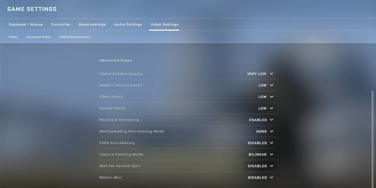 CSGO Settings Guide