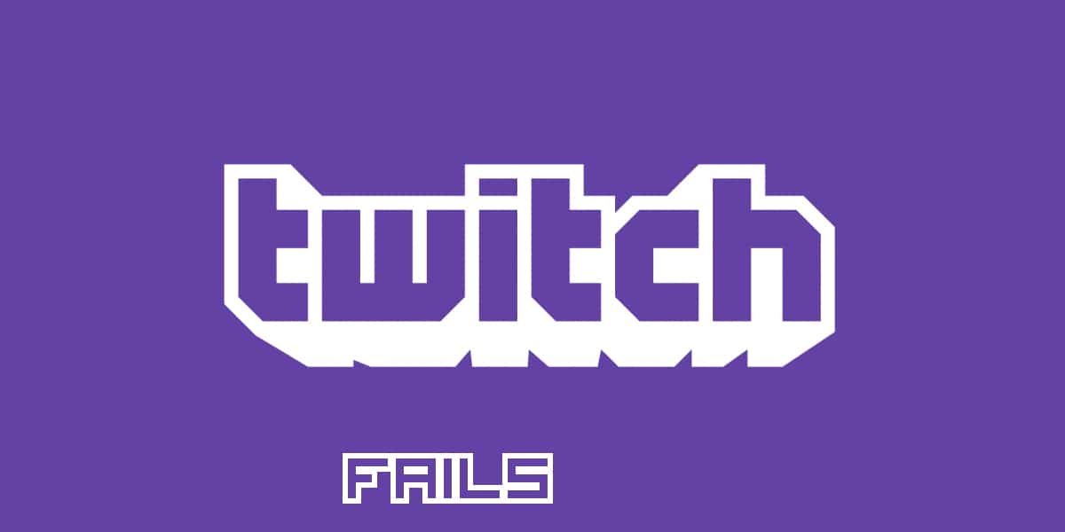 twitch stream fails