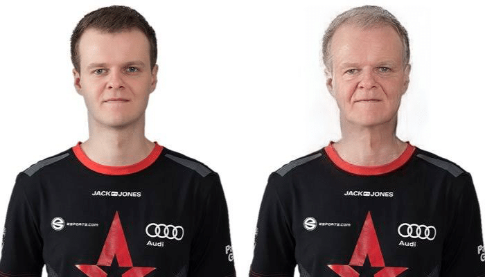 Andreas Xyp9x Højsleth FaceApp Transformation