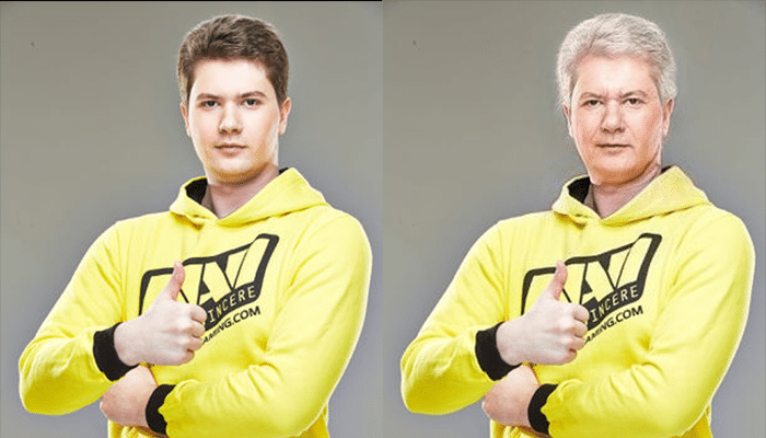Clement Puppey Ivanov FaceApp Transformation