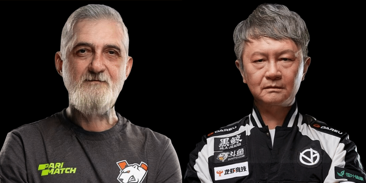 Favorite Esports Athletes try the FaceApp Transformation