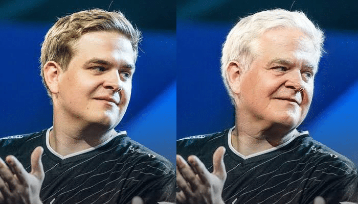 Fabian Fabian Hällsten FaceApp Transformation