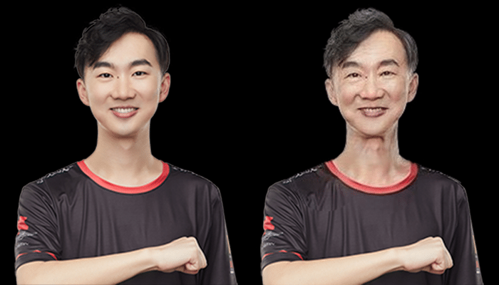 Guan SNJing Zhendong FaceApp Transformation