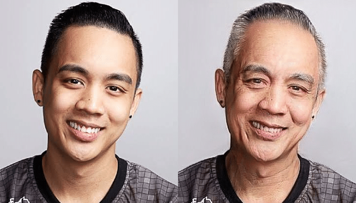 Nico Eyyou Barcelon FaceApp Transformation