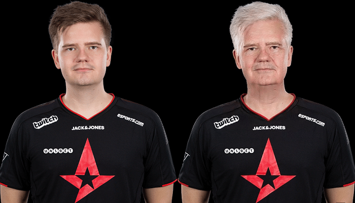 Peter dupreeh Rasmussen FaceApp Transformation