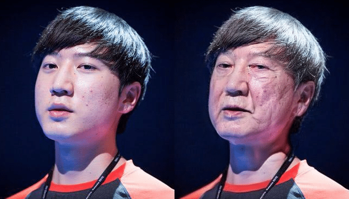 Shin Lee Hyung FaceApp Transformation
