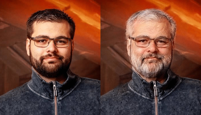 Torben Viper Wahl FaceApp Transformation