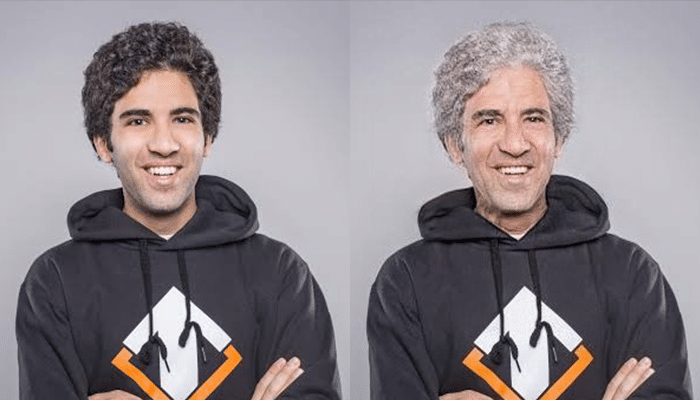 Yazied YapzOr Jaradat FaceApp Transformation