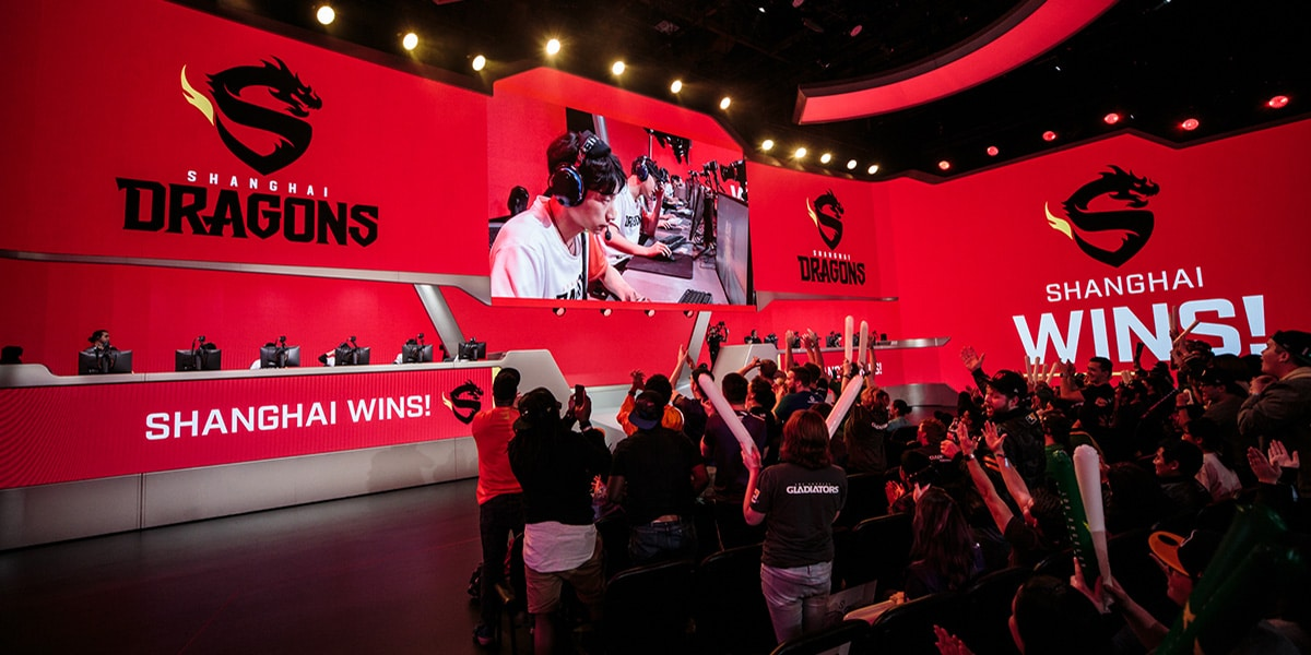 Shanghai Dragons win