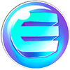 EnjinCoin cryptocurrency logo