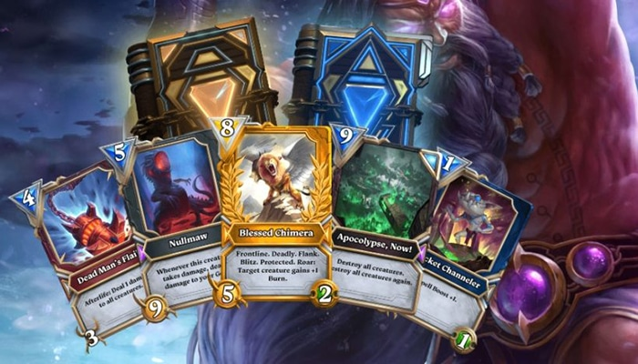 Gods Unchained cards